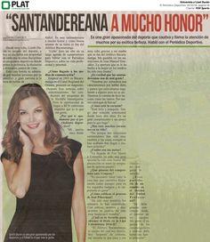 FOX Sports: Entrevista a Lizet Durán en El Periódico Deportivo de Colombia (10/10/16)