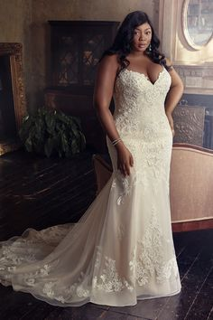 Western Wedding Dresses, Designer Wedding Dresses, Bridal Dresses, Lace Wedding, Dresses Uk, Mermaid Wedding, Evening Dresses, Plus Size Wedding Gowns, Plus Size Brides