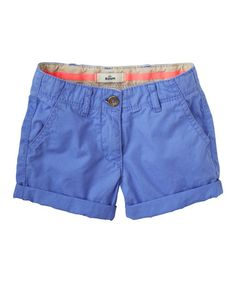Love this Periwinkle Blue Shorts - Infant, Toddler & Girls on #zulily! #zulilyfinds