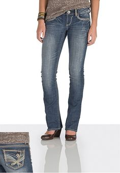 Hydraulic � Gramercy Thick Stitch Jeans- long (original price, $49) available at #Maurices