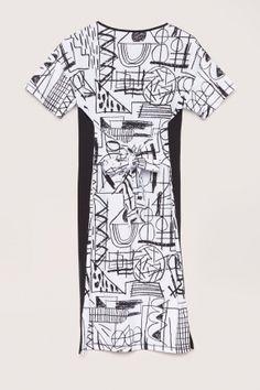 Art De Crayon Tee Dress