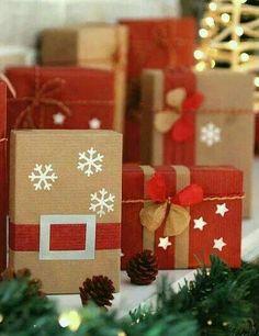 Contador de Papel Navidad Fiesta Bolsas Dulce Buffet Santa Copo De Nieve pequeñas y medianas
