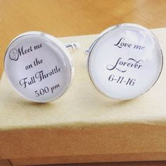 Personalized for bride, meet me at full throttle, love me forever. #etsy #wedding #handmade