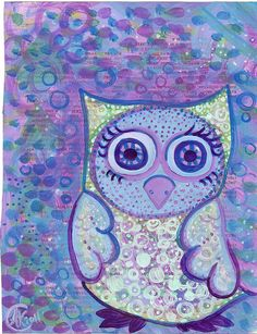 'Owl Doodle' by Allie Jane