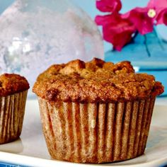 Gluten Free Banana Apple Muffins-Get your hourly source of sweet...
