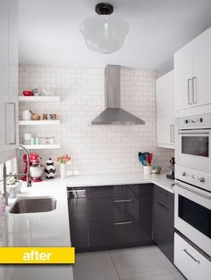 Kitchen Before & After: A Dated Cottage Kitchen Gets a Modern Update — Kitchen Remodel | The Kitchn
