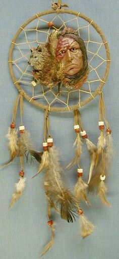 Wolves and Dream Catchers | Indian Wolf Dream Catchers