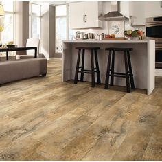 $2.68 IVC Moduleo Vision Dryback Plank Old English Oak 24263 Vinyl Flooring