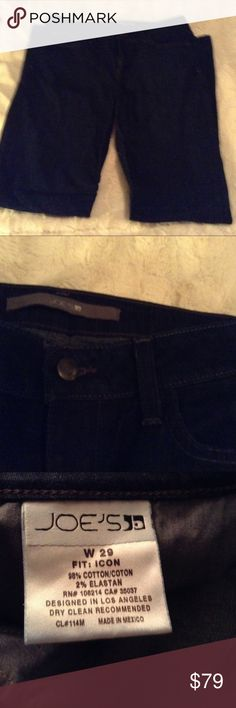 Joe's Icon Jeans Heidi Wash Size 29 LN Like new without tags as I can't remember ever wearing them Joe's Jeans. Icon Fit in Heidi wash. Size is 29. Style is RHDQ5790. B5 Joe's Jeans Jeans Flare & Wide Leg
