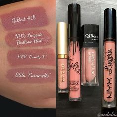 Kylie Lip Kit Dupes for Candy K