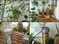Ivani Kubo Paisagismo: Jardim Zen em Varanda de Apartamento