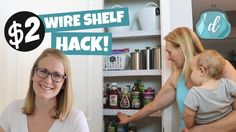 p/dollar-tree-wire-shelf-hack-perfect-apartment-organization-idea-dollar-tree-wire-shelf-hac - The world's most private search engine Dollar Tree Organization, Linen Closet Organization, Kitchen Organization, Organization Hacks, Shelf Makeover, Organizing Wires, Diy Blog, Wire Shelving, Dollar Stores