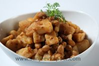 Vratwale Aloo: Simple and easy to make dish prepared from potatoes - common during vrats.