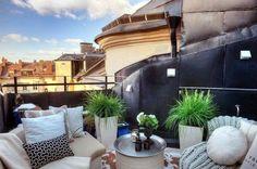 aménagement de petit balcon en centre ville
