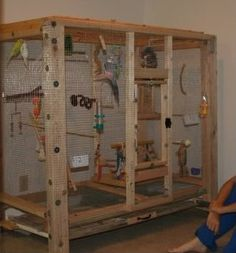Advice on making indoor mini aviary - Talk Budgies Forums