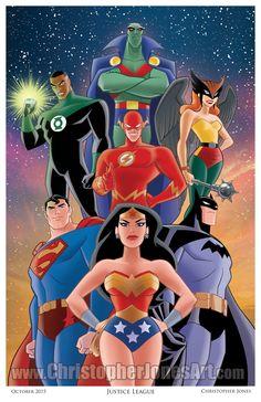 Justice league - Christopher Jones