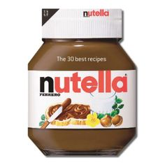 Nutella Cookbook (3.565 HUF) ❤ liked on Polyvore featuring home, kitchen & dining, cookbooks, food, fillers, background fillers, random and cook-book