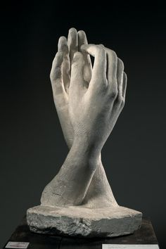 """Rodin's """"Cathedral"""" Not a drawing, just one of my favorite pieces ever."""