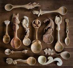 cucchiai-legno-intagliati-manici-decorati-giles-newman-05 - KEBLOG