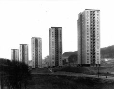 furtho:  Castlemilk tower block, Glasgow, Scotland (by University of Glasgow Library)