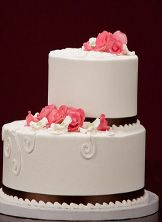 Say Yes Wedding Cakeand its not even expensive Great for DIY