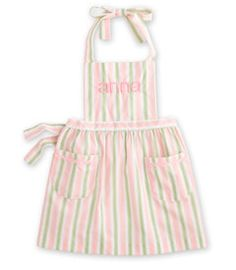 personalized marzipan apron.. SO SO CUTE!