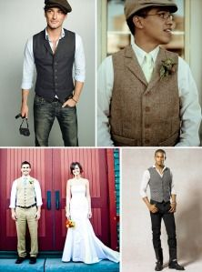 My Beau is Irish :) He might go for this style in the wedding too.  He likes for everyday!