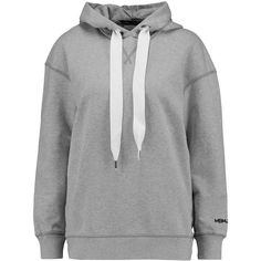 Marc by Marc Jacobs Cotton-jersey hooded sweatshirt (310 ILS) ❤ liked on Polyvore featuring tops, hoodies, grey, sweatshirt hoodies, marc by marc jacobs, hooded pullover, oversized hooded sweatshirt and grey hoodies