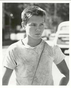 River Phoenix as Chris Chambers in Stand By Me. One of my favourite movies.