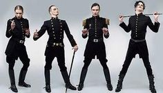 軍服,ミュージシャン,グループ,DEATHSTARS,王子服,Death Dies Hard,外国人