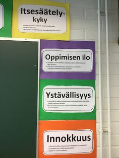 Anssi-open blogi: Vahvuusopetuksesta Social Skills, Classroom Organization, Special Education, Reflection, Kindergarten, Mindfulness, Positivity, Teacher, Student