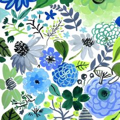 of This past month the artists have worked on a group Exquisite Corpse floral project. Try and guess who drew which one! Exquisite Corpse, Cool Color Palette, Flower Silhouette, Wren, Repeating Patterns, Floral Motif, Textile Design, Flower Designs, Flower Power