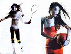Olympic Fashion Spreads: China Vogue