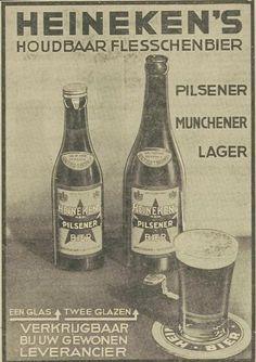 Heineken Reclame van vroeger (jaartal: 1930 tot 1940) - Foto's SERC Beer Poster, Poster Ads, Art Posters, Old Advertisements, Advertising Poster, Vintage Postcards, Vintage Ads, Old Commercials, Great Ads