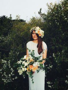 Wedding flower crown | Brian Flaherty | VSCO
