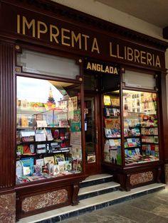 Librería en Vic, Barcelona_Boulevard literario