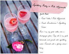 Easy pink lemonade cocktail