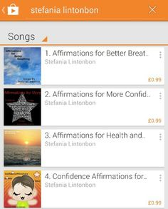 Yippee!My mp3s are on Google play now. Affirmations for Kids & Teens...Great way to start off my day. ♥♥#affirmationsforchildren  #affirmationsforconfidenceandhealth