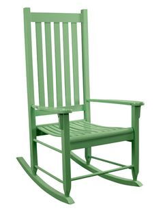 32 Happy And Colorful Home Decor Items. Wooden Rocking ChairsOutdoor ...