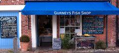 Gurneys Fish Shop, Burnham Market - 5 miles / 11 mins west. Open Mon-Sat 9-5  Sun 10-1