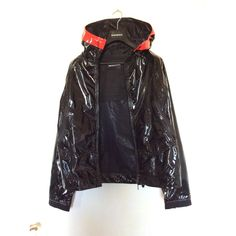 Jacket Emporio Armani Black size 48 IT in Synthetic - 7751096 Armani Black, Armani Men, Emporio Armani, Armani Jacket, Pvc Coat, Luxury Consignment, Sleeves, Jackets, Clothes