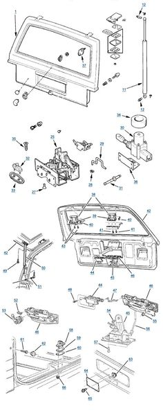 Cherokee Liftgate Parts