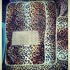 cheetah car interior <3