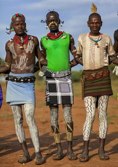 ORIGIN. 'Bashada Tribe Warriors from Dimeka, Omo Valley, Ethiopia' by Eric…