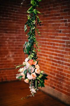 Vintage Romance at Carondelet House - Style Me Pretty Loft Wedding, Wedding Art, Floral Wedding, Wedding Flowers, Dream Wedding, Wedding Ideas, Space Wedding, Wedding Bouquets, Wedding Ceremony