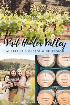 Experience Australia's oldest Wine region only located 2 hours aways from Sydney! #australia #huntervalley Visit Australia, Australia Travel, Sydney Australia, Hunter Valley Winery, Best Sparkling Wine, Wine Tourism, Working Holidays, The Perfect Getaway, Rustic Feel