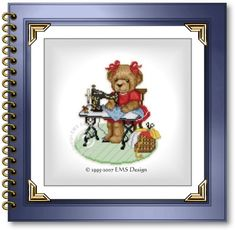 bear and violin cross stitch pattern | Cross Stitch Babies and Bears by EMS Design. Bears at Work
