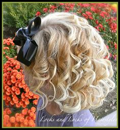 Flower girl hairstyle minus the headband and add in her headpiece I picked out @ Selena Cafaro