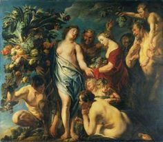 Jacob Jordaens (19 May 1593 – 18 October 1678) was a Flemish painter, draughtsman and tapestry designer known for his history paintings, genre scenes and portraits. After Peter Paul Rubens and Anthony van Dyck, he was the leading Flemish Baroque painter of his day.