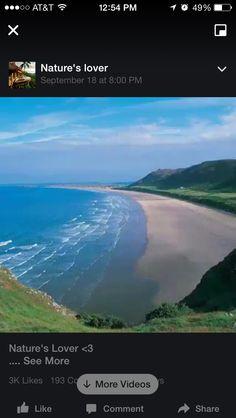 Beach Green Ocean, Sandy Beaches, Nature, Beautiful, Naturaleza, Nature Illustration, Outdoors, Natural